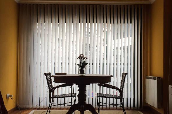 cortinas verticales de lamas