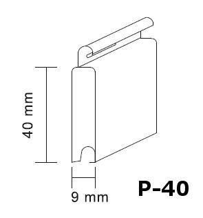 fabricante lama de aluminio plana